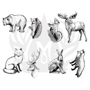 DSS-101 Woodland Animals