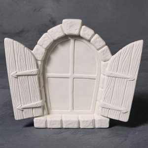 Fairy Window with Shutters