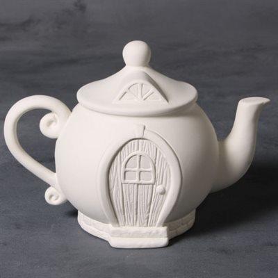 Teapot Fairy House