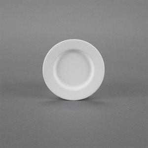 Rimmed Dessert Plate
