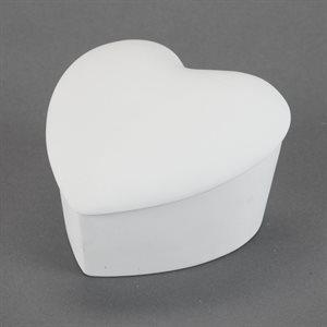 Slanted Heart Box