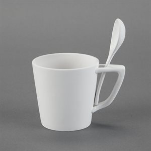 Small Snack Mug W / Spoon