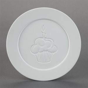 Cupcake Dinner Plate