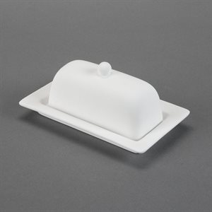 Rimmed Butter Dish