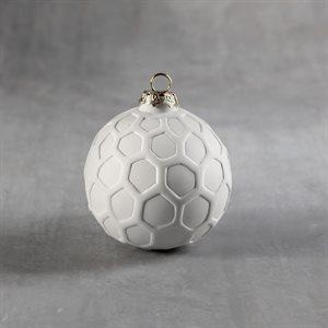 Hexagon Round Ornament