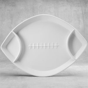 Divided Football Dish