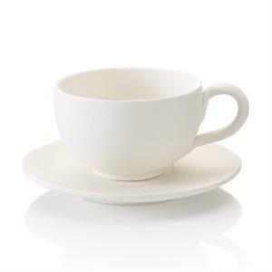 Cappuccino Mug & Saucer 16oz.