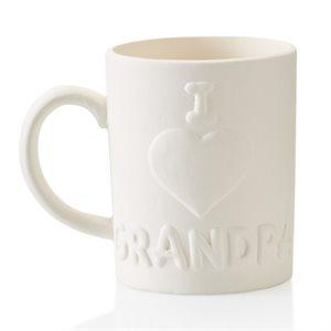 I Love Grandpa Mug 12 on