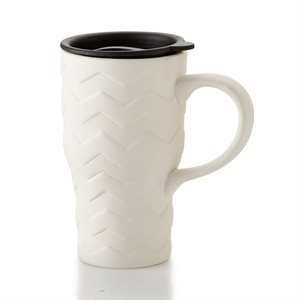 Chevron Travel Mug 18oz.