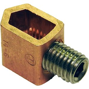 COPPER CONNECTOR 1 SCREW