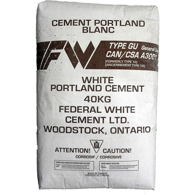 White Portland Cement Type GU